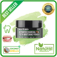 Charcoal Whitening Teeth - Arang Pemutih Gigi Alami - Mello White