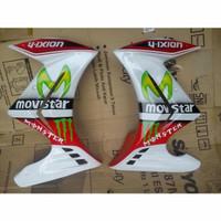 sayap vixion new nva nvl half fairing model ninja 250 fi pnp