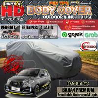 IMPREZA HD Datsun Go Car Cover TOTAL WATERPROOF - EMPAT LAPIS - abu2