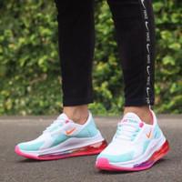 Sepatu Sneakers Nike Air Max 720 White Blue Pink Women