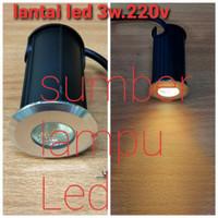 lampu tanam lantai tangga taman outdoor led 3watt 3w 3 watt 3 w 220v