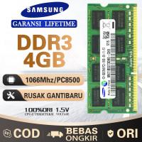 Ram laptop samsung SODIMM 4GB DDR3 DDR3-1066mhz/PC8500 4G sodim