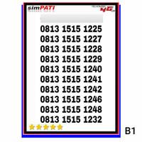 Nomor Cantik Kartu Perdana Telkomsel simpati loop 0813 1515