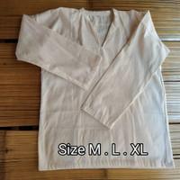 Baju Koko pangsi Baduy tenun katun baju adat suku sunda