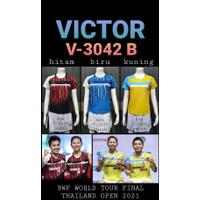 Baju kaos badminton bulutangkis ladies 3042 B import GO
