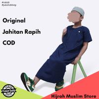 Baju Jubah Gamis Muslim Anak Laki Laki Cowok Bahan Katun Madinah ROSAL