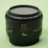 Lensa Fix Canon EF50