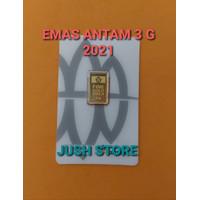 LOGAM MULIA ANTAM 3 GRAM EDISI PRESS / EMAS ANTAM 3 GRAM / EMAS 3 GRAM