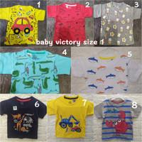 Baby Victory Kaos Anak Cowok/Laki-laki Size 1