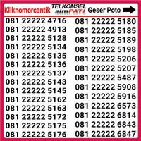 Nomor Cantik Telkomsel Simpati Murah Super Hoki