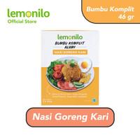 [Flash Sale] Lemonilo Bumbu Komplit ALami Nasi Goreng Kari 46 gr