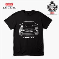 Kaos Baju Mobil Wuling Cortez Kaos Otomotif - Karimake - S