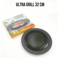Panggangan GRILL PAN ANTI LENGKET 32CM / BBQ PAN / KOREAN BBQ