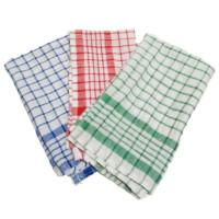 Serbet Dapur Kain Lap Piring Kotak Makan Napkin Towel Lap Tangan Katun