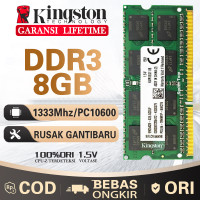 Ram laptop Kingston SODIMM 8GB DDR3 10600/ DDR3-1333 8G sodim