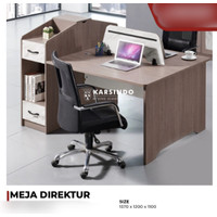 Meja Kerja Partisi / Meja Kantor Partisi / Meja Workstation 2 Orang