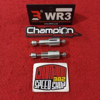 Adapter Adaptor Baut Boshing Bar End Jalu Bandul Balancer Stang M6 WR3