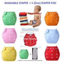 Popok Kain Bayi Klodi Baby Cloth Diaper Clody Insert Pad Kado Lahiran