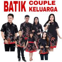 Baju Batik Couple Keluarga / Batik Couple Seragam Keluarga Terbaru - Hem Anak, S