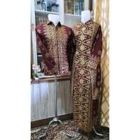Batik Couple Motif Songket Palembang Terbaru Super Jumbo