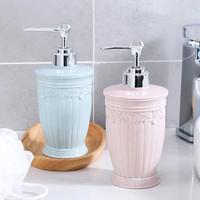 Botol Sabun pump 400ml bahan plastik untuk sabun cair shampoo lotion