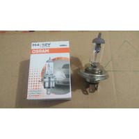 Lampu Bohlam Depan Besar Mobil Halogen Bulb H4 Osram 12V 60/55W Asli