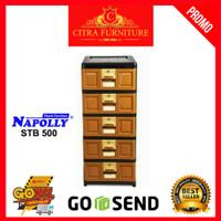 Rak Laci 5 Susun Napolly STB 500| Kingstar B 500|Loker Lemari Plastik