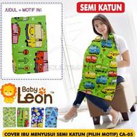 Baby Leon celemek Apron Menyusui Bayi Cover Asi baju penutup