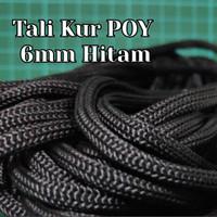 Tali Paper Bag / Tali Kur POY 6mm Hitam