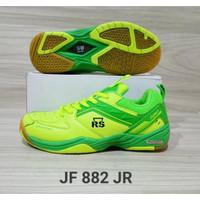 Sepatu Badminton Junior RS JF 882 Warna Hijau Ukuran 34-36 Original