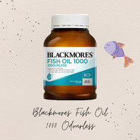 Blackmores Odourless Fish Oil 1000mg 400 tablet