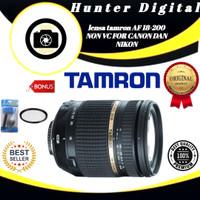 lensa tamron AF 18-200 NON VC FOR CANON DAN NIKON