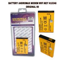 BATTERY BATERAI ANDROMAX MODEM WIFI M2Y H15348 ORIGINAL 99