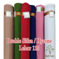 bahan multi kain double sifon hycon hicon bahan kerudung lebar 115cm