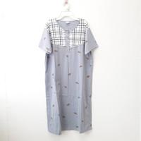 Daster Dewasa LD 105 / Baju Tidur / Daster Busui XL / Dress Kaos Katun