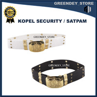 sabuk coupel security/atribut satpam/sabuk security