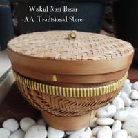 Bakul Wakul Nasi Bambu (Besar)