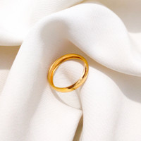 Grosir cincin emas asli kadar 700 polos cristal 10 11 12 13 Elegan