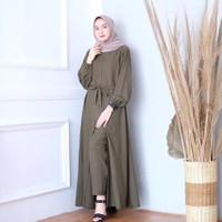 Baju Setelan Wanita Dewasa Muslim Terbaru Tania Set Terlaris Kekinian