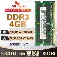 Ram laptop hynix SODIMM 4GB DDR3 DDR3-1066mhz/PC8500 4G sodim