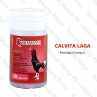 Vitamin Ayam Adu/Kampung Calvita Laga 1 Botol JakTim