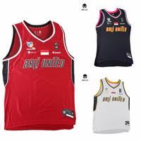 Jersey Basket Bali United dari Mills (Home, Away, & third) Baju Basket