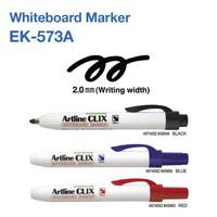 SPIDOL ARTLINE NON PERMANENT WHITEBOARD MARKER EASY CLIX EK-573A - Biru