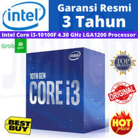 Intel Core i3-10100F 3.6Ghz Up To 4.3Ghz Box Socket LGA 1200