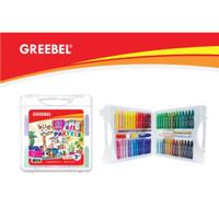 Oil Pastel atau Crayon Greebel Isi 55 Warna