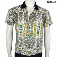 Kaos Polo Pria Batik Miller Neuman-42 Bahan Katun Berkualitas - M