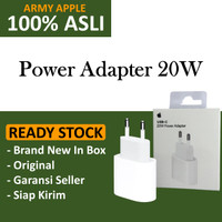 (ORIGINAL) Apple USB-C 20W / 18W Power Adapter iPhone 12 Fast Charger