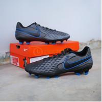 Sepatu Bola Nike Legend 8 Academy FG Black Blue Original Nike Tiempo