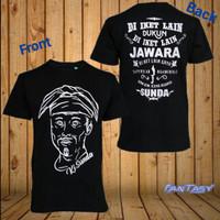 Kaos Pria Distro Sunda Jawara OP027 Fashion Pria Baju Pria - Hitam, L