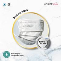 Masker Kosme Mask (Pattern Mask) isi 50 Pcs